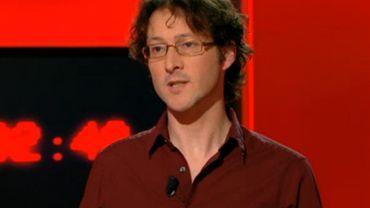 """David Leloup lors de son passage dans l'émission """"On n'est pas des pigeons""""."""