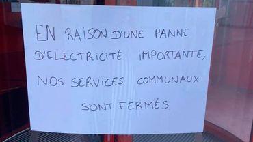 Les services communaux mais aussi les pompiers d' Hermalle injoignables