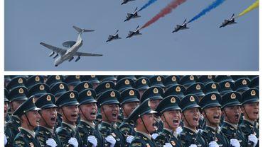 Images du défilé commémorant le 70ème anniversaire du communisme en Chine, à Pékin