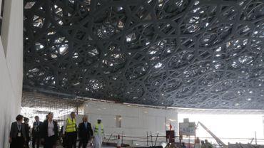 Site du Louvre à Abou Dhabi