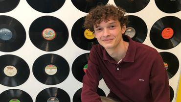 Noah Draga, le responsable de ce Selfie Studio Liège,  a l'âge de certains de ses futurs clients: 19 ans.