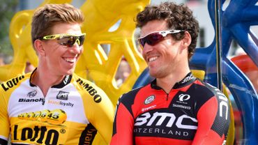 Sep Vanmarcke et Greg Van Avermaet