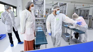 La production de masques de protection en Wallonie est un élément du plan Rebond
