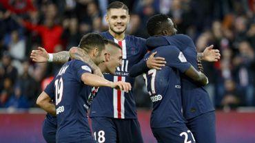 Le Paris SG écrase Angers 4-0 et consolide sa première place