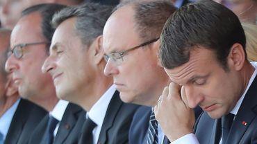 """""""Tout sera fait pour que la République, l'État, la puissance publique regagne votre confiance"""", a assuré Macron."""