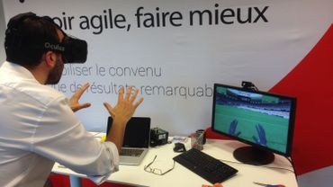 La jeune société carolo PYXIS STUDIO lance pour l'euro 2016 le jeu virtuel FOOT VR