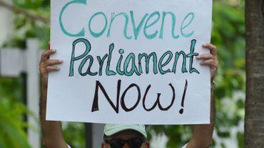 Sri Lanka: le parlement convoqué une semaine plus tard que prévu