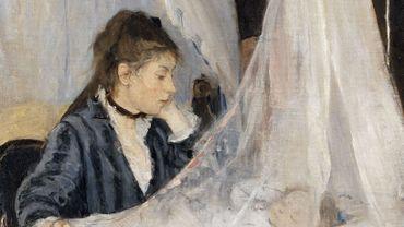'Le nouveau-né est le visage de la considération' (Berthe Morisot - Le berceau)