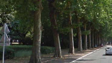 La rue Bozière à Tournai