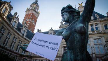 Le mouvement Bruxsel'air multiplie les actions pour alerter sur la pollution de l'air