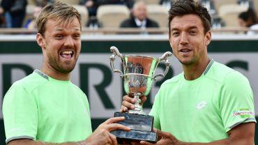 Kevin Krawietz et Andreas Mies ont remporté le double messieurs à Roland Garros