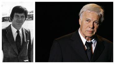Guy Bedos en 1970 et en 2006
