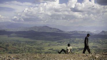 Vue dans la région de Bukavu