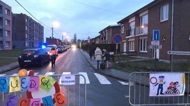 """Grâce-Hollogne: des """"rues scolaires"""" en test à proximité de l'école Georges Simenon"""