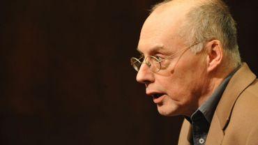 Jean-François Dumont, secrétaire général adjoint de l'Association des journalistes professionnels (AJP) le 13 janvier 2010 à Bruxelles.