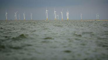 La construction du premier parc éolien en mer du Nord est terminée