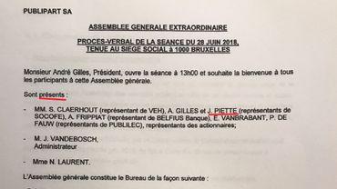 Josly Piette approuve les désignations de Dominique Drion et André Gilles