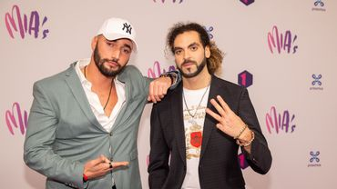 Bilall Fallah et Adil El Arbi aux MIA's en février 2020