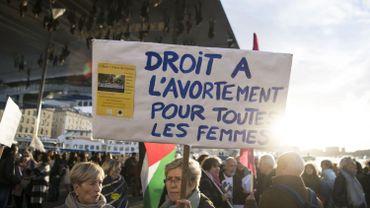Manifestation à Marseille en mars 2018.