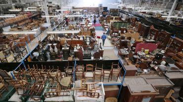 En 2014, Locatema avait mis en vente plus de 1500 objets.