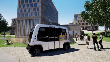 Voici à quoi pourrait ressembler la future navette que la ville veut expérimenter à Louvain-la-Neuve.