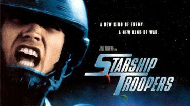 """""""Starship Troopers"""" raconte la guerre des humains contre de terribles insectes extraterrestres"""