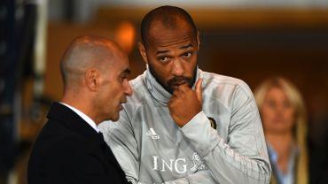 """Thierry Henry, cité à Monaco, """"sera sur le banc demain"""", garantit Roberto Martinez"""