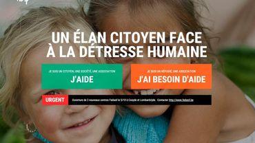 Des particuliers lancent un site web pour centraliser l'aide aux réfugiés