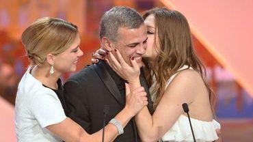 """Cannes: """"La vie d'Adèle"""" d'Abdellatif Kechiche, coproduction belge, Palme d'Or"""