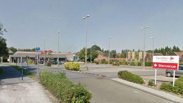 Le Carrefour Market de Jumet a été braqué en février dernier