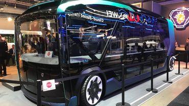 Sans conteste, la star de ce salon est le bus électrique.