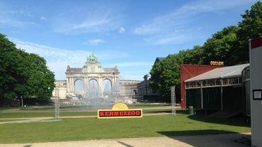 Le Festival Kermezzo se déroule dans le parc du Cinquantenaire