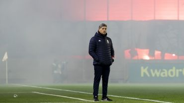 Charleroi écope d'une amende pour l'utilisation par ses fans de matériel pyrotechnique