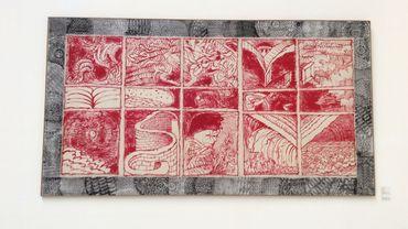 Alechinsky, le papier chante aux Musées Royaux des Beaux-Arts, Bruxelles