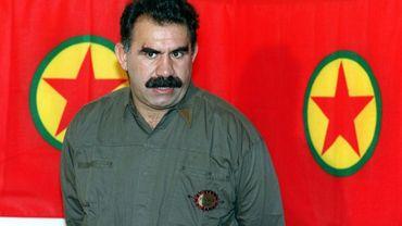 Photo d'archives du leader kurde Abdullah Öcalan, prise le 28 septembre 1993.
