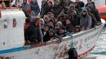 Arrivée d'immigrants le 21 mars