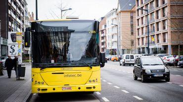 Un bus des TEC
