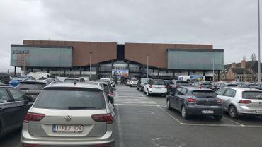 Le parking de l'Acinapolis de Jambes bientôt payant