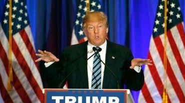Le candidat à la primaire républicaine Donald Trump à West Palm Beach, le 5 mars 2016