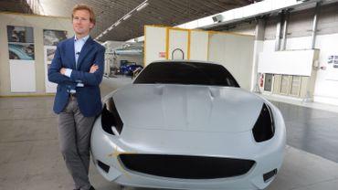 Louis de Fabribeckers, designer automobile belge à Milan
