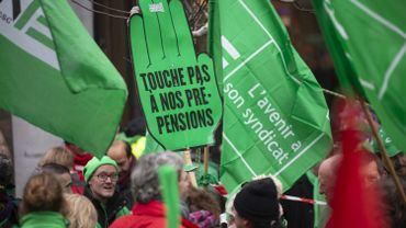 Grève nationale: la CGSP et la CSC déposent un préavis de grève pour la police intégrée