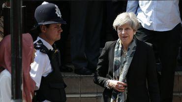 Therresa May s'est rendue à la mosquée de Finsbury Park