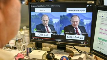 """""""Les manipulations peuvent toucher l'audio ou la vidéo. On est en train d'arriver à l'audio plus la vidéo"""", selon le chercheur français Vincent Nozick"""