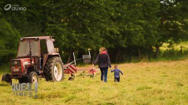 Plongez dans le quotidien d'une jeune agricultrice wallonne avec ce superbe documentaire