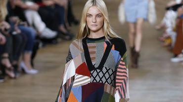 La patchwork selon la maison Chloé - Collection prêt-à-porter automne-hiver 2015-2016