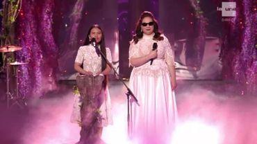 Shalva Band chante « A Millions Dreams » sur la scène de l'Eurovision