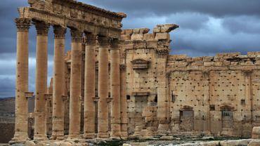 Temple de Bel (ou Baal) à Palmyre, en mars 2014