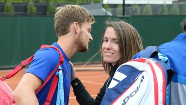 David Goffin et Justine Henin