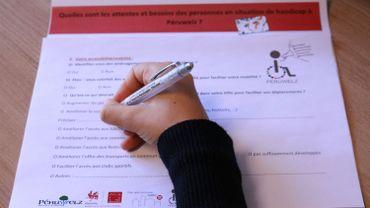 À Péruwelz, si vous êtes une personne en situation de handicap ou une personne de son entourage, vous pouvez remplir un questionnaire de façon anonyme pour expliquer vos attentes et besoins.