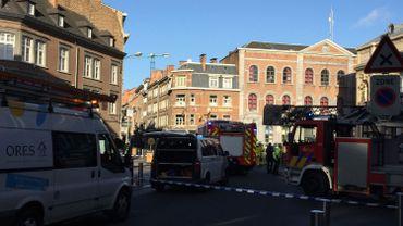 La fuite de gaz provoque de gros embarras de circulation dans le centre-ville de Namur